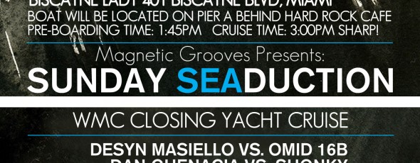 WMC Closing Cruise | Sun, Mar 24th