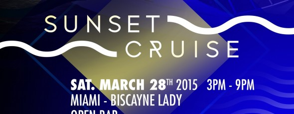 Cosmic Gate & Friends Sunset Cruise
