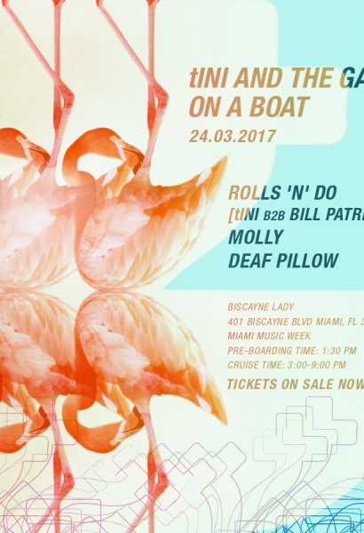 tINI AND THE GANG on a boat | Fri, Mar 24th